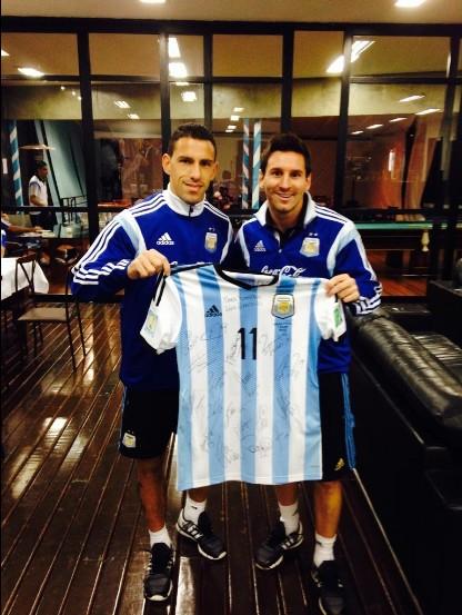 ¿Cuánto mide Maxi Rodríguez? Mondial